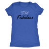 Tee Stay Fabulous in Vintage Royal Blue