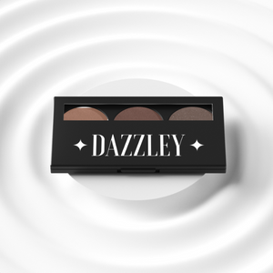 Smokey Brown Eyeshadow Trio Palette