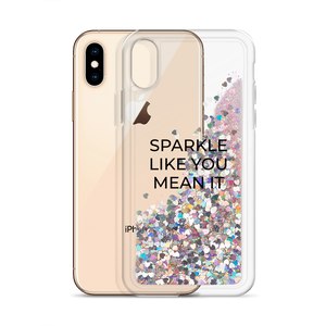 Pink Glitter Phone Case Sparkle Like You Mean It
