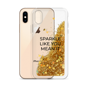 Gold Glitter Phone Case Sparkle Like You Mean It
