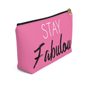 Makeup Bag Stay Fabulous Small Left Side