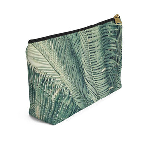 Makeup Bag Palm Tree Small Left Side