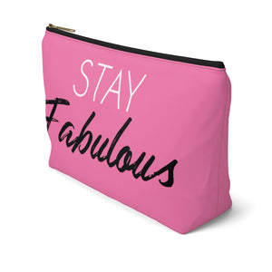Makeup Bag Stay Fabulous Large Right Side