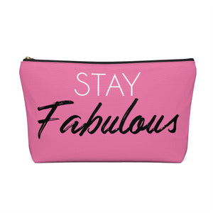 Makeup Bag Stay Fabulous Large Back