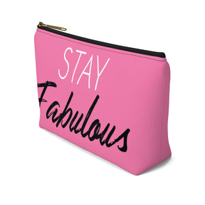 Makeup Bag Stay Fabulous Small Right Side