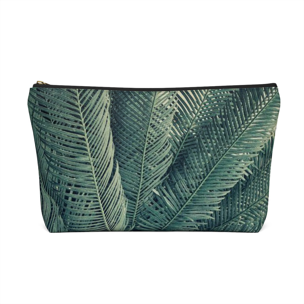 Makeup Bag Palm Tree Large Back