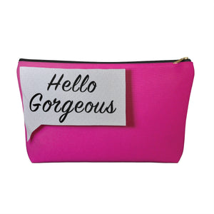 Makeup Bag Hello Gorgeous Large Front