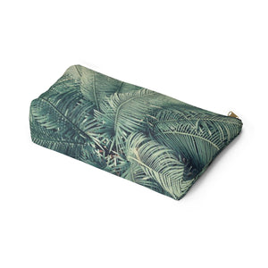 Makeup Bag Palm Tree Large Bottom