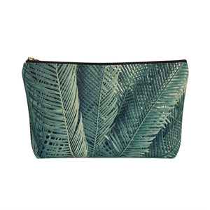 Makeup Bag Palm Tree Small Back