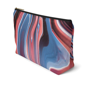 Makeup Bag Fluid Painting Large Right Side