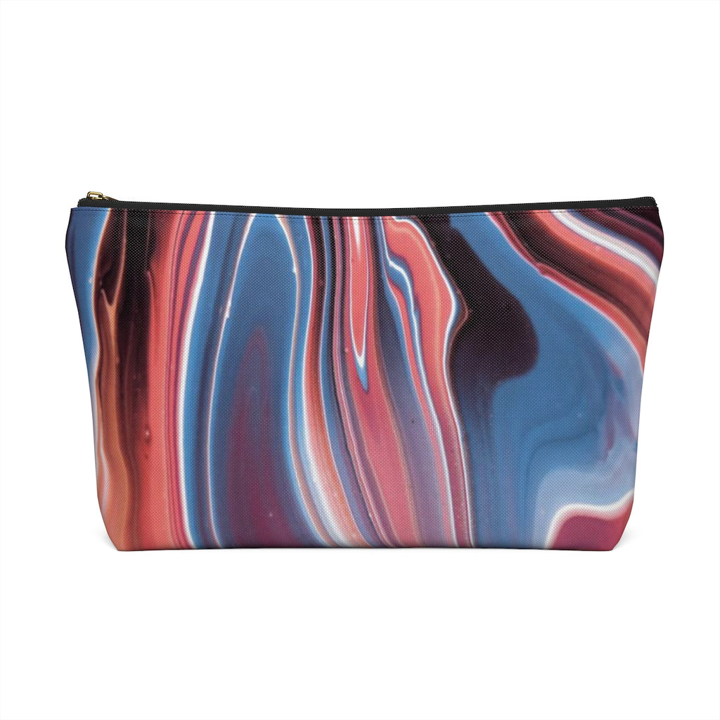 Makeup Bag Fluid Painting Large Back