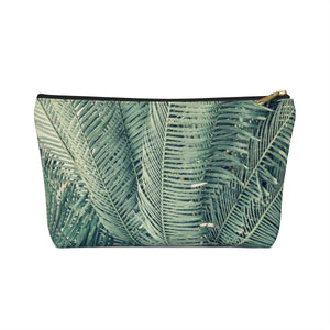 Makeup Bag Palm Tree Small Front