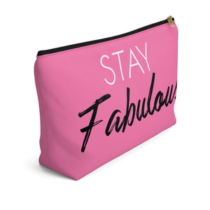 Makeup Bag Stay Fabulous Large Left Side