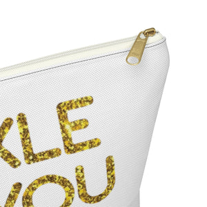 Makeup Bag Sparkle Like You Mean It Large Close Up