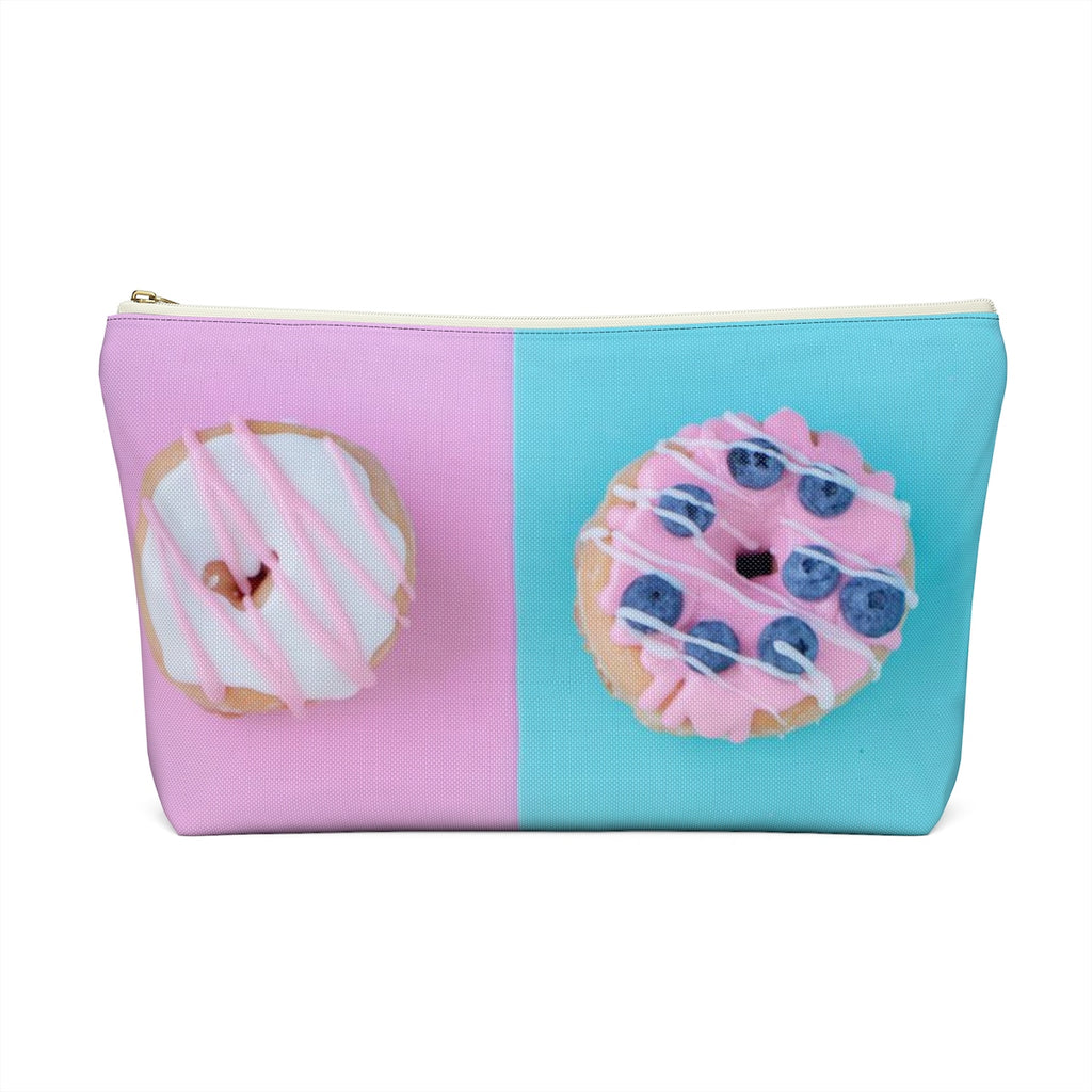 Makeup Bag Donuts Large Back