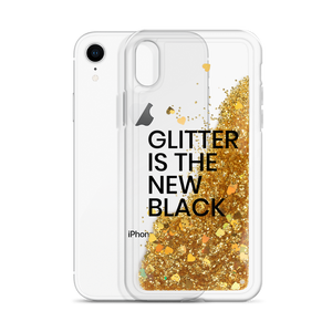Gold Phone Case Glitter is the New Black