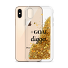 Gold Liquid Glitter Phone Case GOAL digger
