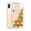 Gold Glitter Phone Case Daisies