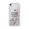 Pink Liquid Glitter iPhone Case Sparkle Like You Mean It