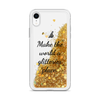 Gold Phone Case Make the World a Glitterier Place