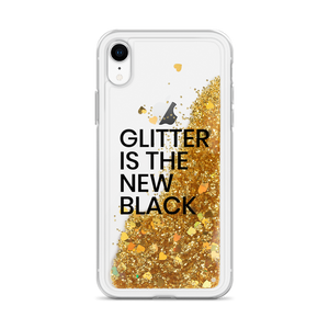 Gold iPhone Case Glitter is the New Black