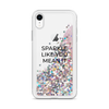 Glitter Pink iPhone Case Sparkle Like You Mean It