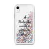 Glitter Pink iPhone Case Make the World a Glitterier Place