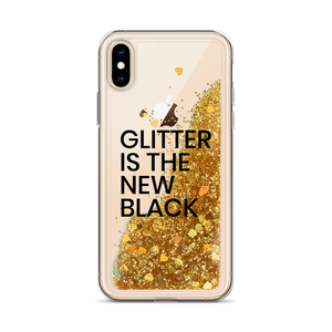 Gold Glitter iPhone Case Glitter is the New Black