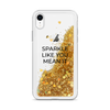 Glitter Gold iPhone Case Sparkle Like You Mean It