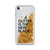 Gold Liquid Glitter iPhone Case Glitter is the New Black