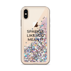 Pink Glitter iPhone Case Sparkle Like You Mean It