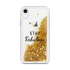 Glitter Gold iPhone Case Stay Fabulous