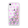 Glitter Pink iPhone Case Hearts