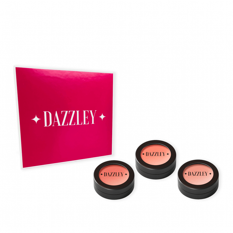 Dazzley Peachy Blush Trio Gift Box