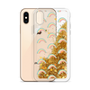 Gold Glitter Phone Case Rainbows