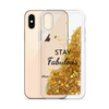 Gold Glitter Phone Case Stay Fabulous