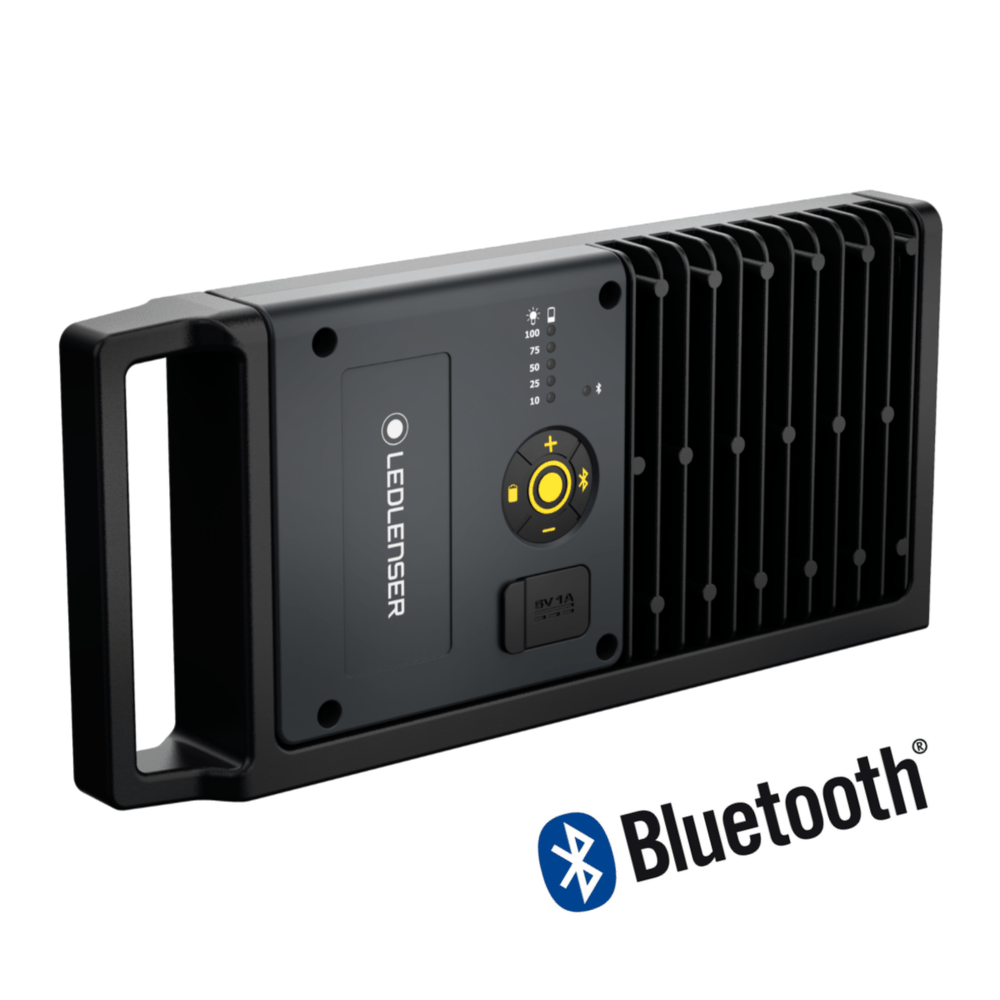 Lámpara Recargable de Trabajo iF8R Bluetooth LEDLENSER