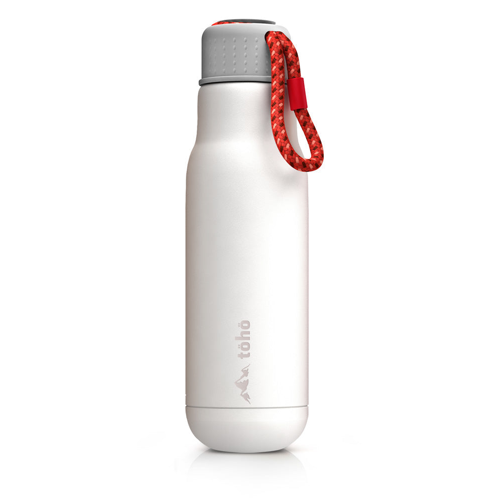 Termo de Acero Inoxidable 500 ml Blanco