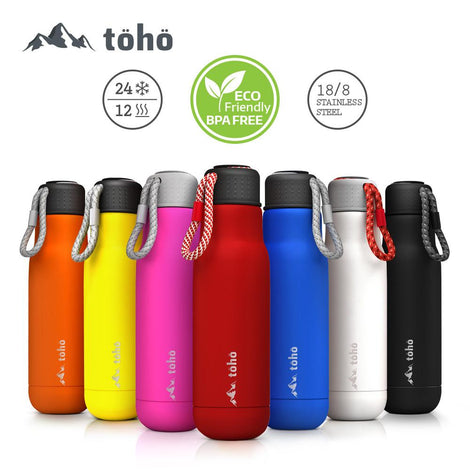 Termo de Acero Inoxidable 500 ml Rojo TOHO