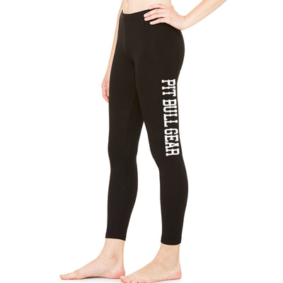 PIT BULL GEAR WOMENS COTTON SPANDEX LEGGINGS