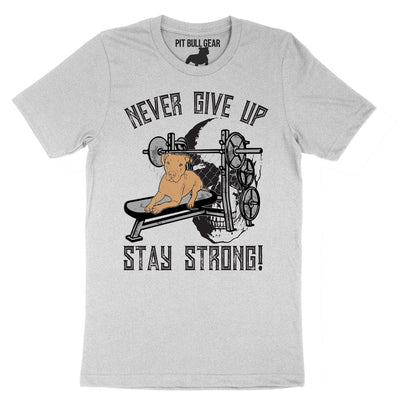 NEVER GIVE UP STAY STRONG - TEE