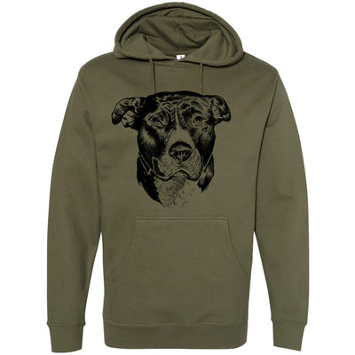 PIT BULL PRIDE - MIDWEIGHT PULLOVER HOODIE
