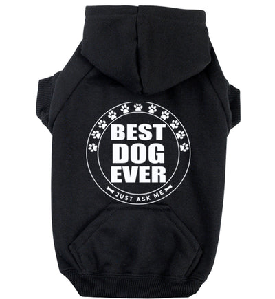 ZIPPER DOG HOODIE - CHOOSE SAYING