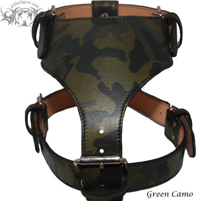 Leather Dog Harness - 16