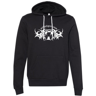 PIT BULL GEAR LOGO - MIDWEIGHT PULLOVER HOODIE