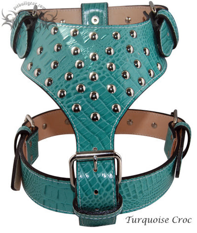 Y20 - Studded Leather Dog Harness - 5