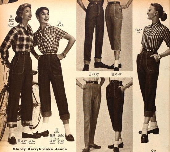 jeans 1957