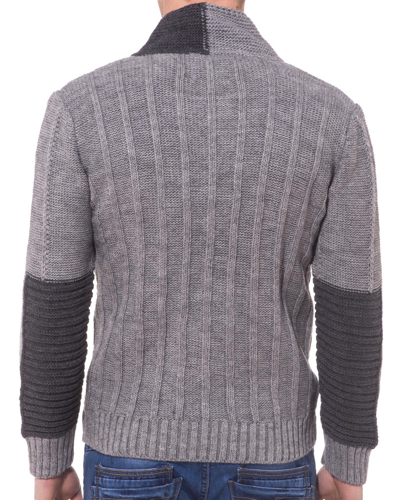 Pull homme fashion gris clair