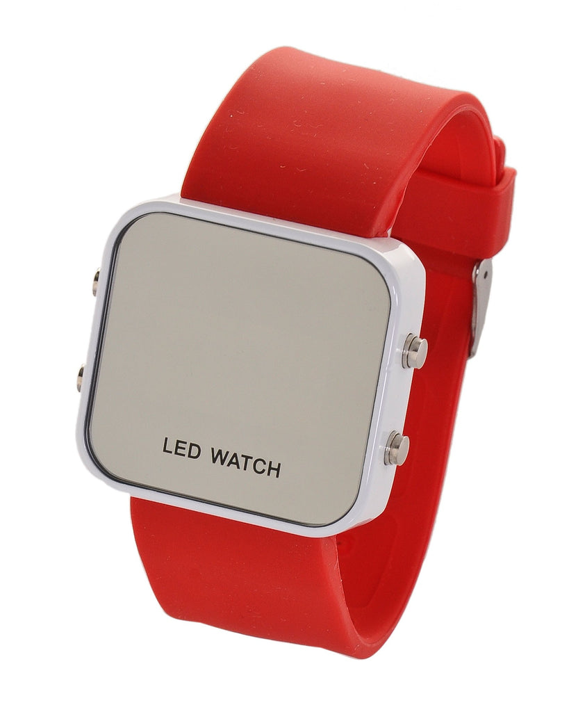 Montre LED rouge