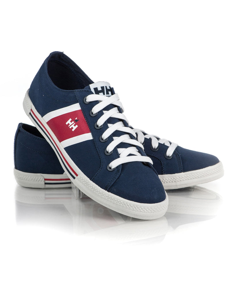 Baskets Navy Toile Homme